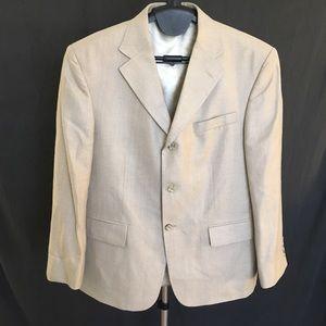 Vintage Oscar de la Renta Tan Suit Jacket Blazer